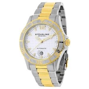 Stuhrling Regatta 161.332232 Stainless Steel 42mm x 41mm Watch