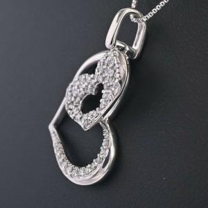 Diamond 18k white gold Necklace