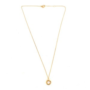 Cartier Trinity Pendant Necklace 18K Tricolor Gold with Diamond