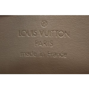 Louis Vuitton Vernis Lexington Pouch Yellow