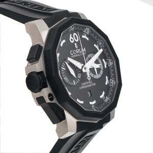Corum Admirals 50 Left Hand Chronograph Mens 50mm Watch