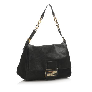 Mamma Forever Leather Chain Shoulder Bag