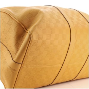 Louis Vuitton Keepall Bandouliere Bag Damier Infini Leather 45