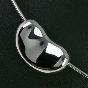 TIFFANY & Co Silver925 Beans Necklace NST-66