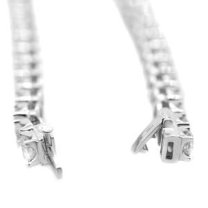 Ross & Simons 10k Gold 8.00ct Diamond Tennis Bracelet