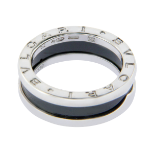 Bulgari Sterling Silver Save The Children Band Ring Size 6.25