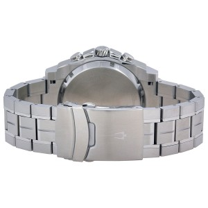 Bulova Precisionist Chronograph Stainless Steel 47mm Watch