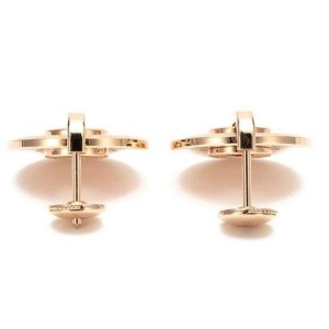 Chopard 839205-5001 18K Rose Gold Diamonds Earrings