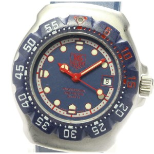 TAG HEUER Stainless Steel / rubber Formula 1 Watch RCB-82