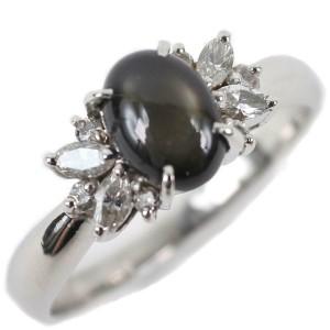 Platinum/Alexandrite Cat's Eye/diamond Ring