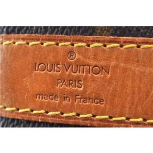 Louis Vuitton Monogram Keepall Bandouliere 45