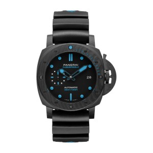 PANERAI LUMINOR SUBMERSIBLE CARBOTECH 42MM PAM00960 AUTOMATIC MEN'S WATCH