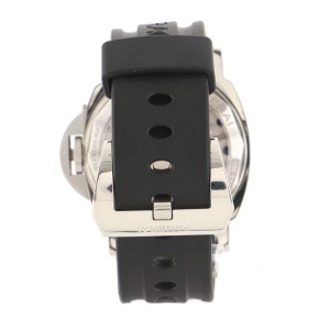 Panerai Luminor Base Manual Watch Stainless Steel and Rubber 44