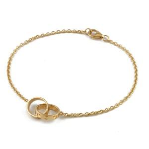 CARTIER 18K yellow Gold Baby love Bracelet