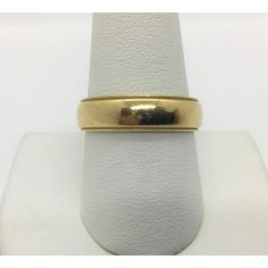 Tiffany & Co. 18K Yellow Gold Wedding Ring Size 9.75