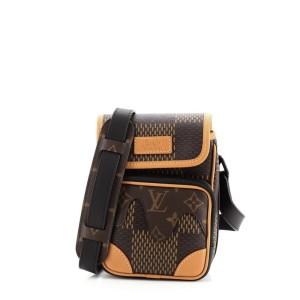 Louis Vuitton Nigo Amazone Messenger Bag Limited Edition Giant Damier and Monogram Canvas Nano