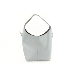 Alexander Wang Genesis 16mz1126 Gray Leather Hobo Bag