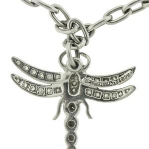 Tiffany & Co. Platinum and Diamond Dragonfly Charm Bracelet