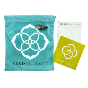 Kendra Scott: Camryn Stud Earrings in Black Pearl