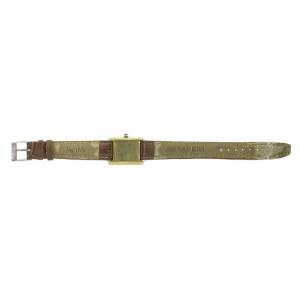 Must de Cartier Vermeil Tank Roman Numeral Dial Watch