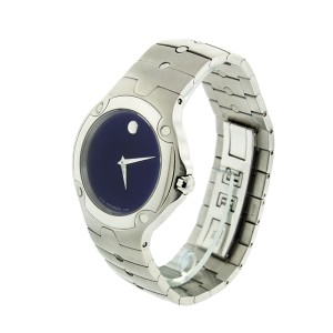 Movado Sports Edition 0604702 Men's Blue Dial Watch Model