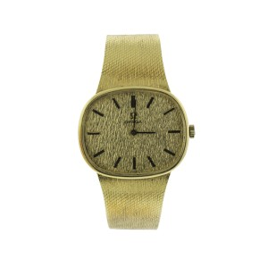 Vintage Omega 14k Yellow Gold Watch