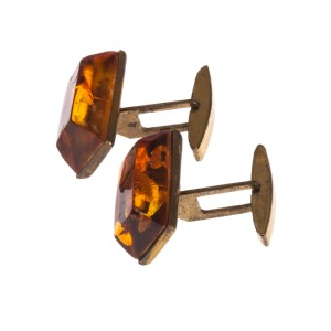Baltic Amber Cufflinks