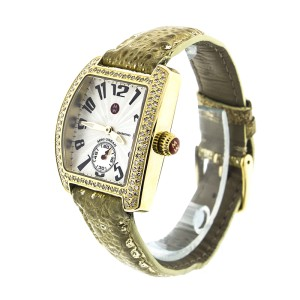 Michele Deco 16 Gold Diamond Dial  MW06V00A9046 Womens Watch