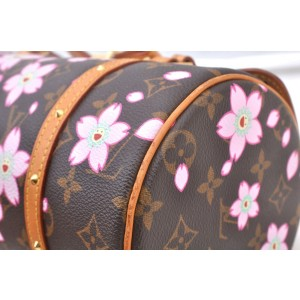 Louis Vuitton Monogram Cherry Blossom Papillon Hand Bag M92009 LV 98532