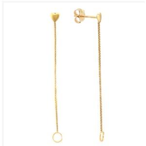 10K Yellow Gold Dangle Earrings