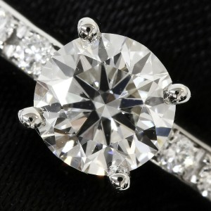 Bvlgari Platinum Griffe Diamonds Ring TNN-1661