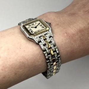 CARTIER PANTHÉRE 22mm 18K Yellow Gold & Steel Watch