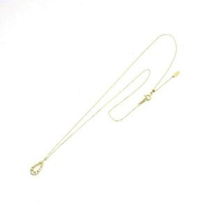 Vendome Aoyama 18K yellow gold Diamond Necklace Rcb-130