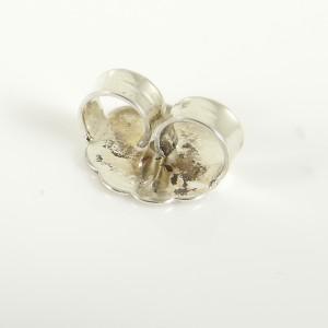 David Yurman Sterling Silver 14K Faceted Gold Dome Chandelier Earrings