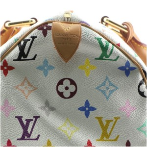 Louis Vuitton Speedy Handbag Monogram Multicolor 30
