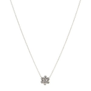 Tiffany & Co. Garden Flower Pendant Necklace Platinum and Diamonds