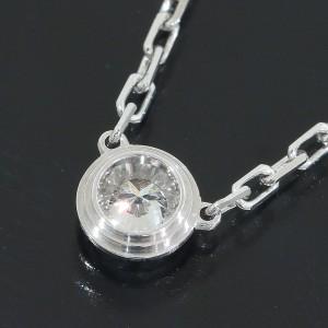 Cartier 18K White Gold Diamants Legers De Cartier Diamonds Necklace
