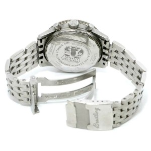 BREITLING:Stainless steel Fighters A13330 Chronograph Navitimer Watch