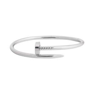 Cartier Juste Un Clou Bracelet White Gold Size 18