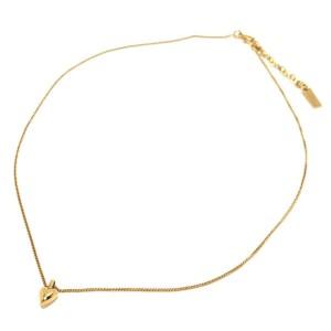 SAINT LAURENT Gold Hardware Necklace