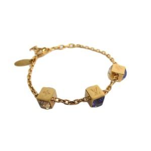 Louis Vuitton Brass & Rhinestone Bracelet