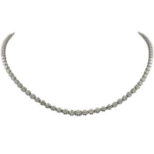 Tiffany & Co. Victoria Riviera Platinum & Diamond Necklace