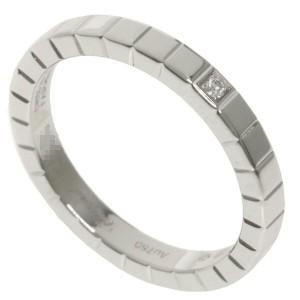 Chopard 18K White Gold Ice Cube Diamond Ring
