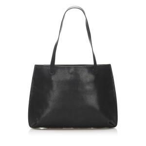 Caviar Leather Tote Bag