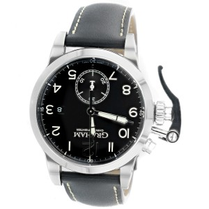 Graham Chronofighter 1695 2CXAS.B01A.L17S Auto 43mm Black Dial Mens Watch