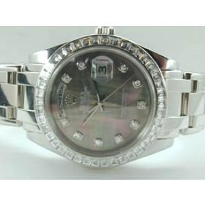 Rolex Diamond Masterpiece Platinum Mens Watch
