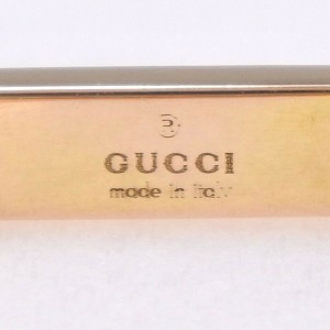 GUCCI 18k Pink Gold Octagonal Ring