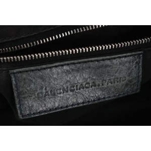 Balenciaga Grey Agneau Giant Brogues Hardware City 135bal78