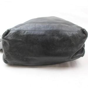 Balenciaga Hobo Arena Day 868558 Black Leather Shoulder Bag