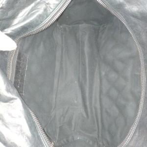 Balenciaga Black Chevre Leather Quilted Matelasse MM Satchel 863025